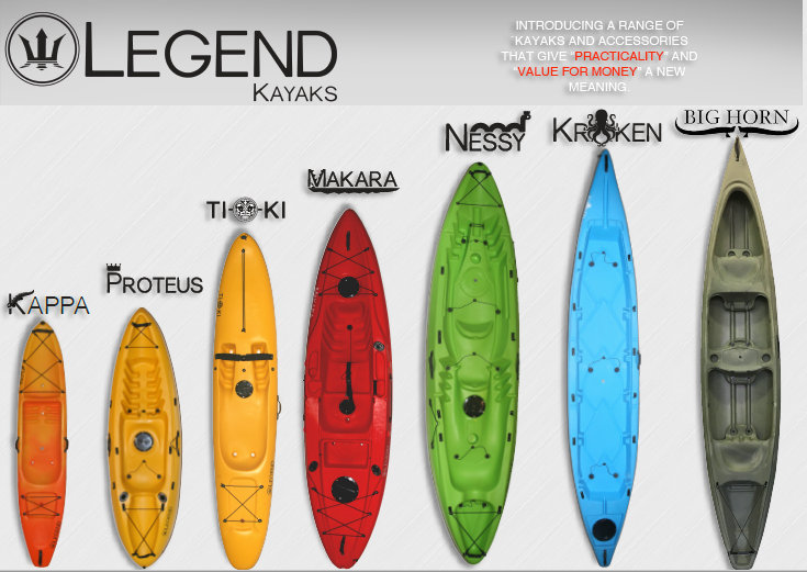 legend kayaks