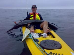Bert Sailie caught from kayak
