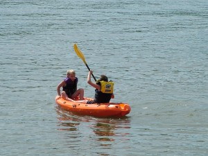 Buddy kayak reverse seat