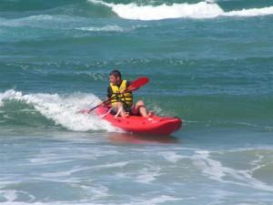 synergy kayak surfing