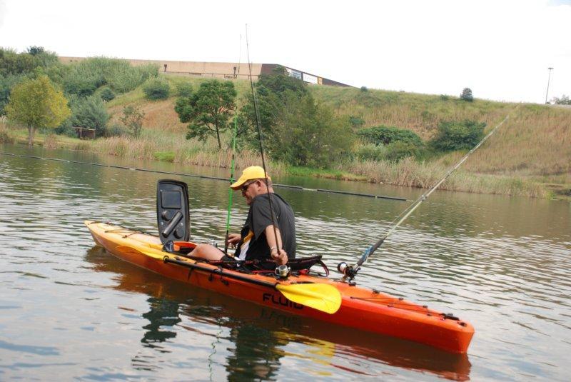Fluid Bamba fishing kayak