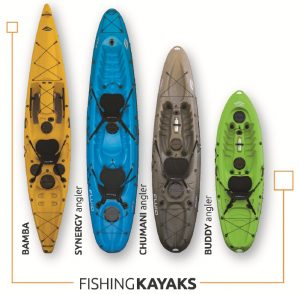 Fluid Fishing Kayaks Front Page