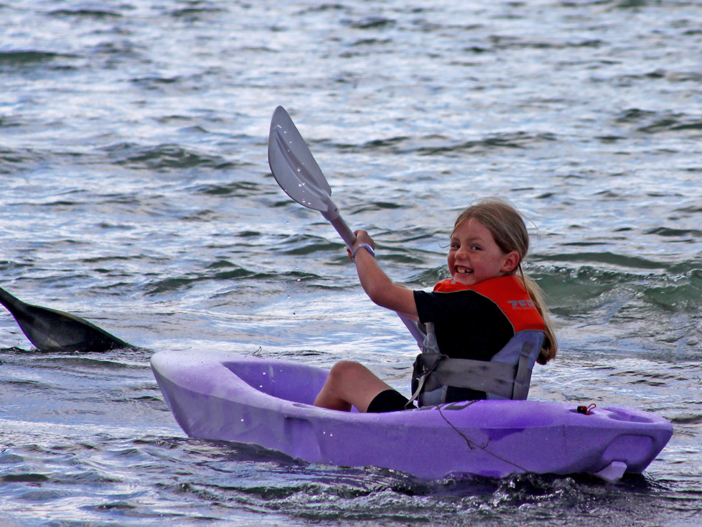 Fluid Vaya kids kayak