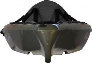 Bamba kayak rear view