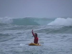buddy kayak surf fishing
