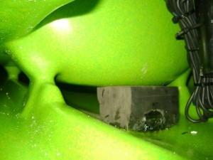 how to fit a transducer 8