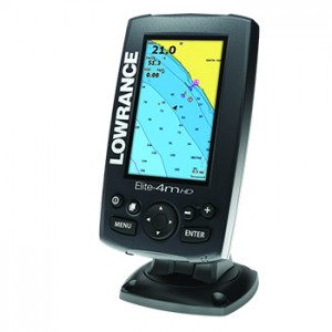 Lowrance Elite-4m-HD--GPS-chart-plotter