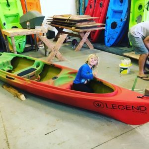 legend big horn kayak kid