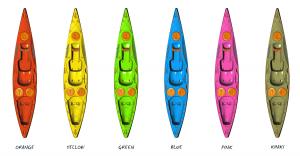 kasai kayak colours