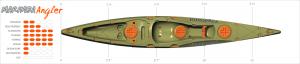 Marimba Angler Fishing Kayak