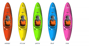 vagabond vubu white water kayak colours