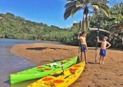 3 kasai kayak beach