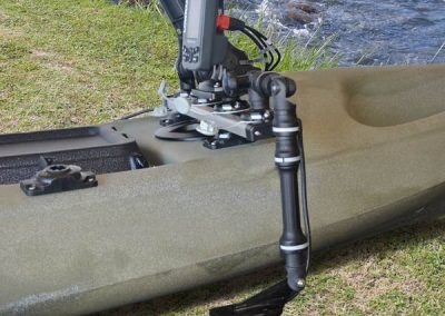 Railblaza Transducer Fitting with fish finder platform