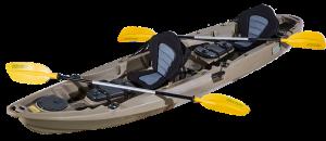 benguela double kayak brown